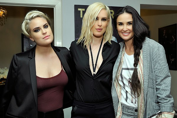 Demi Moore and her daughters