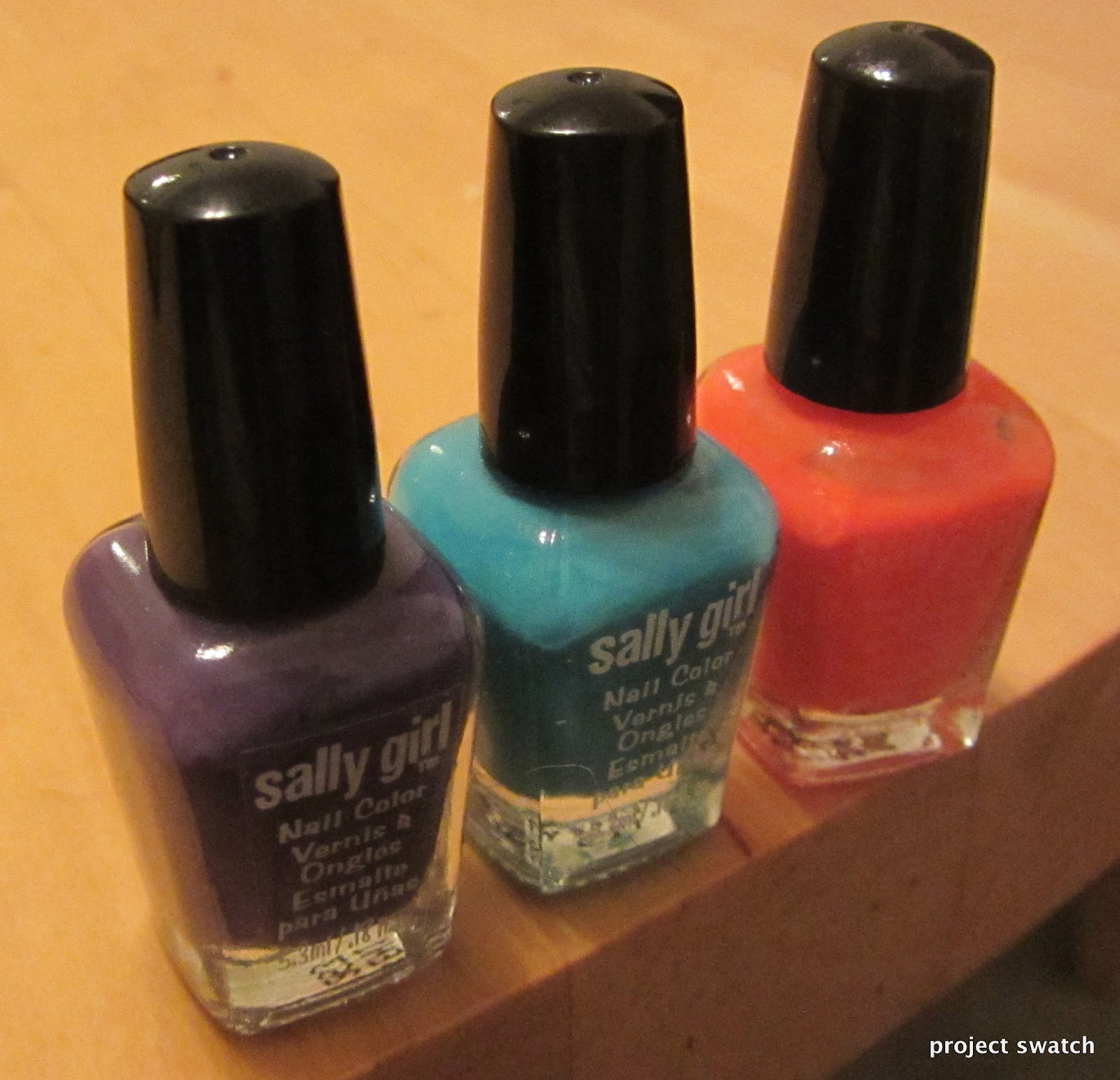 Sally Girl Nail Polish Minis Review, Swatches, Photos - Project Swatch