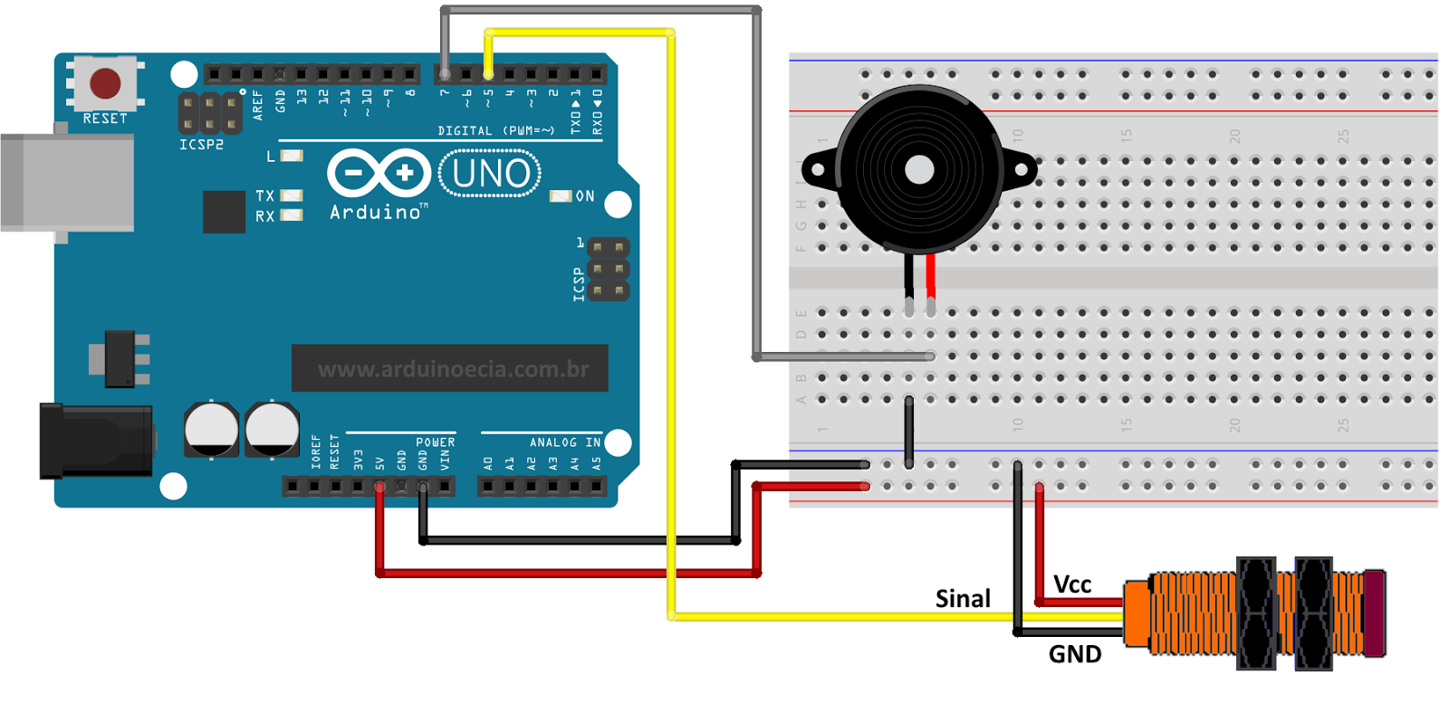 Arduino IR Remote to Control LEDs ON and OFF
