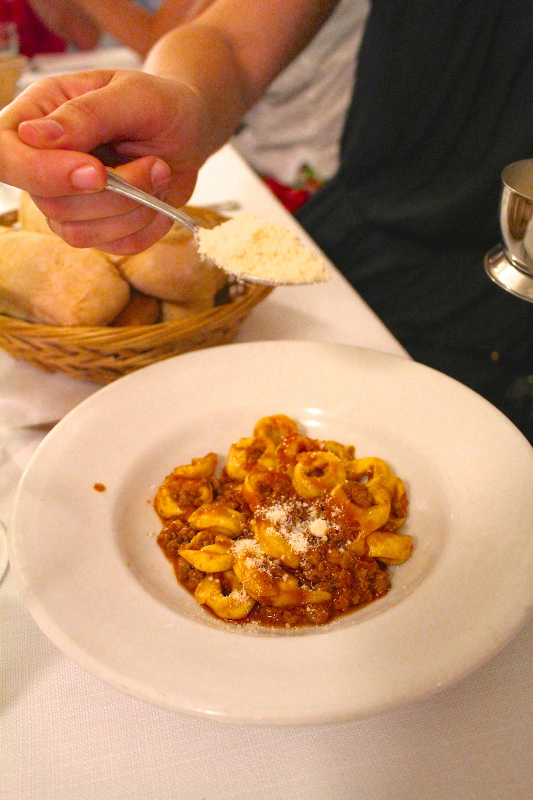 Trattoria Sostanza Firenze tortellini