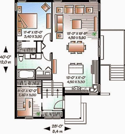 Gambar Denah Rumah Minimalis Sederhana   Rumah minimalis 2015