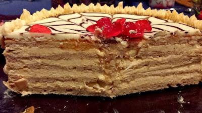 Шоколадно миндальный торт Эстерхази - Ресторан дома
