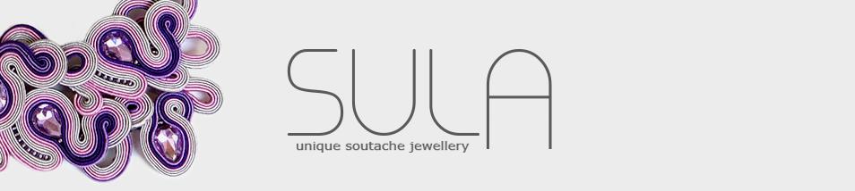 Sula, biżuteria soutache, sutasz