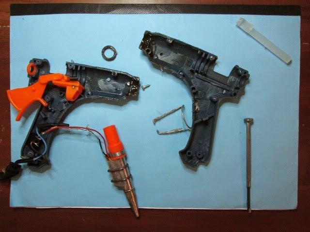 Harga lem tembak - lem tembak rusak - memperbaiki lem tembak