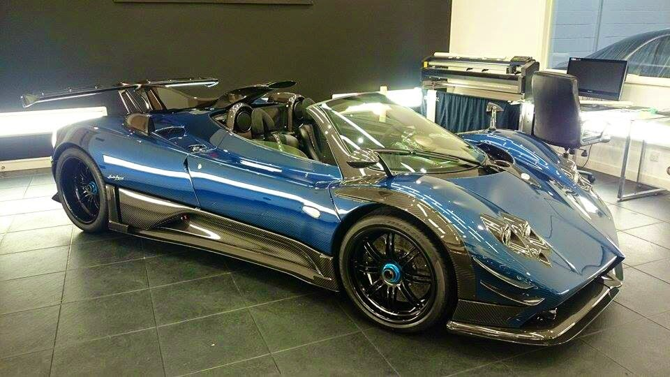Prototype 0: First Pagani Zonda 760 Roadster Unveiled