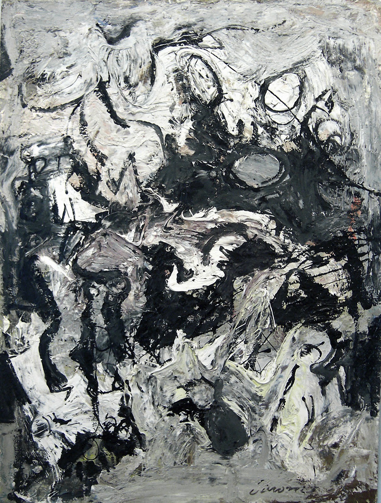 Pollock und Nicolas Ca...