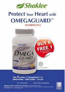 Dec 13 Product Promotion Omega Guard Shaklee