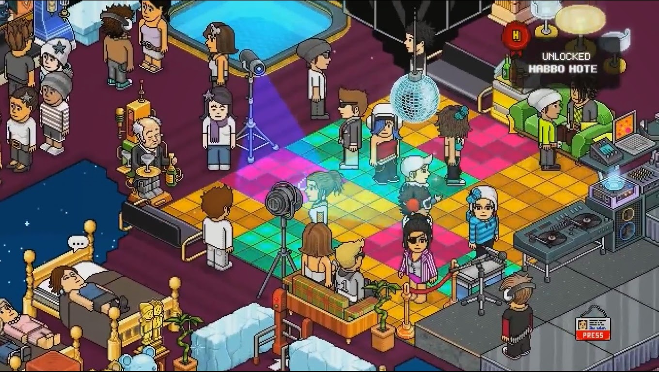 Habbo-Hotel Party