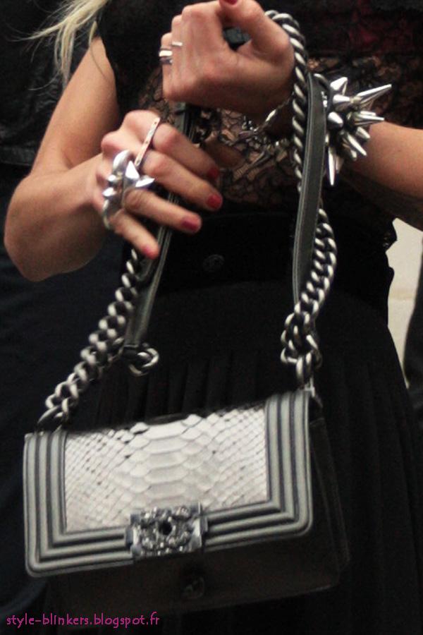 Alice Dellal - The 'Chanel Boy' Bag