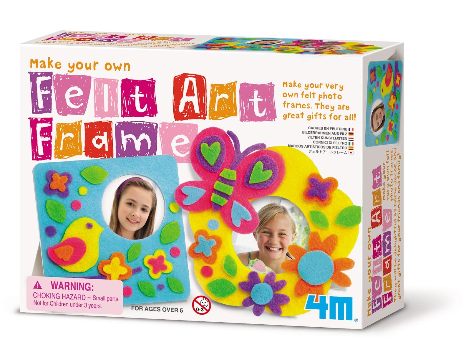 how to make felt art