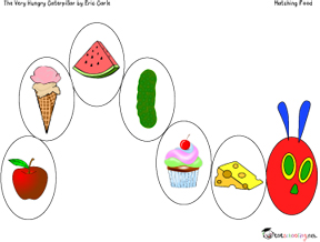 the very hungry caterpillar free printable activity for toddlers - Toddler Activities Printables
