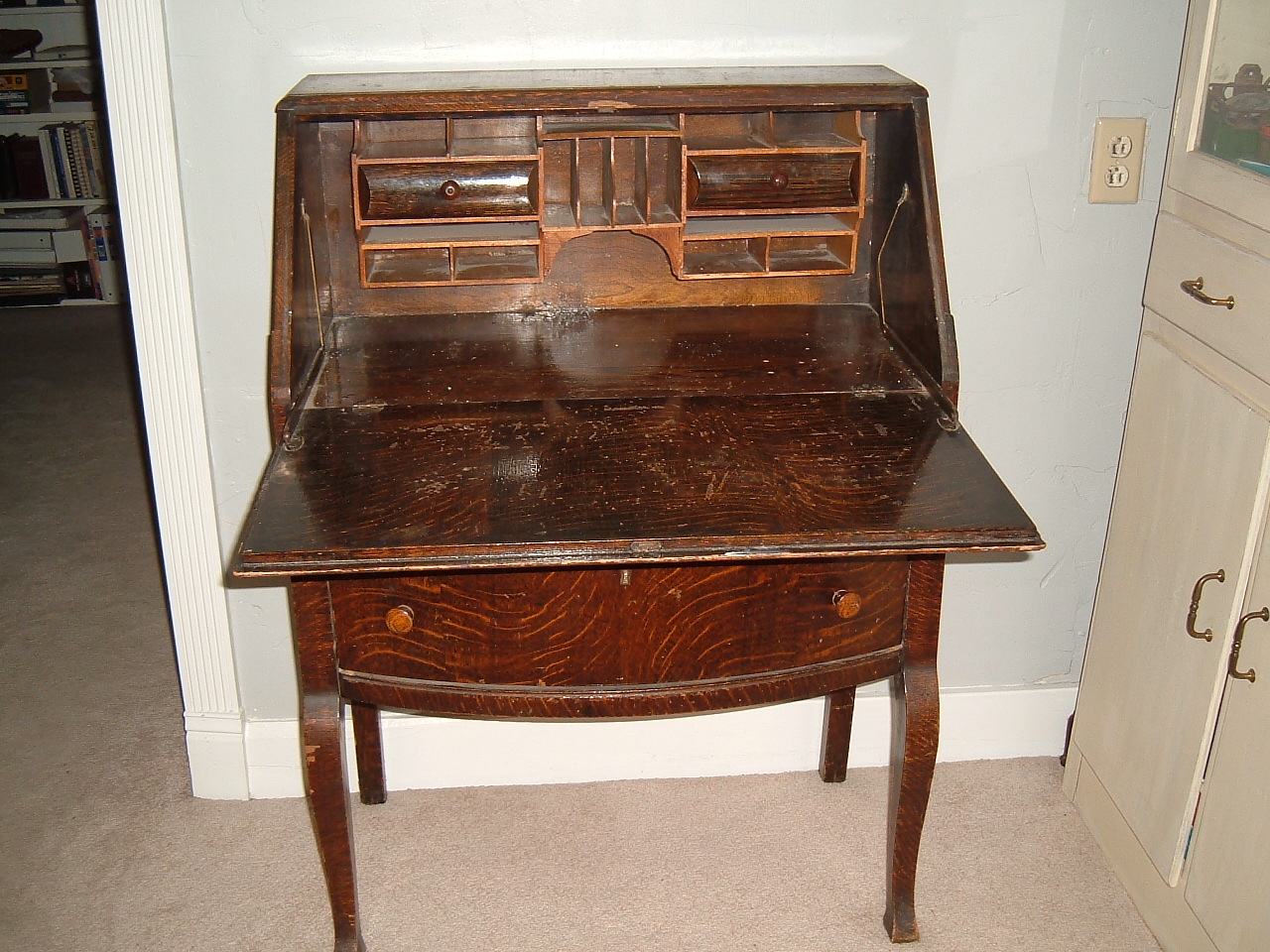 simply smitten antique secretary desk