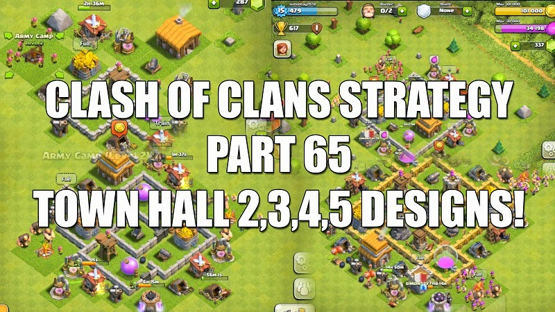Base Town Hall level 5