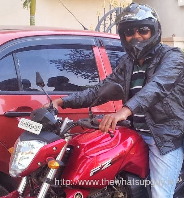 Me in my FZ 16