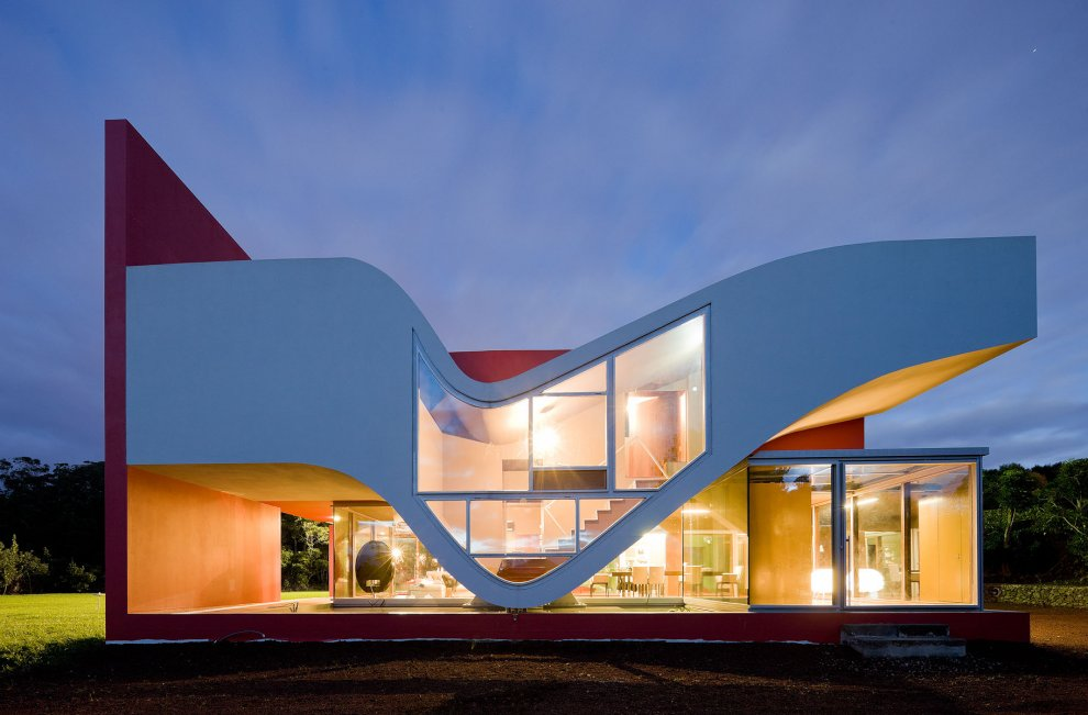 Beautiful house on azores portugal most beautiful houses for Cool modern houses