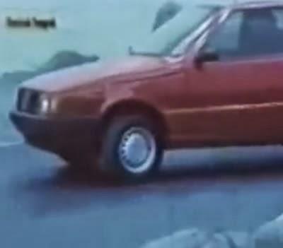 Propaganda de lançamento do Fiat Uno no Brasil, em 1984.