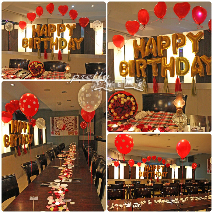 Birthday Room Surprise Ideas