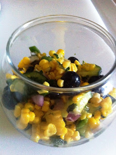 Best Corn and Blueberry Summer Salad