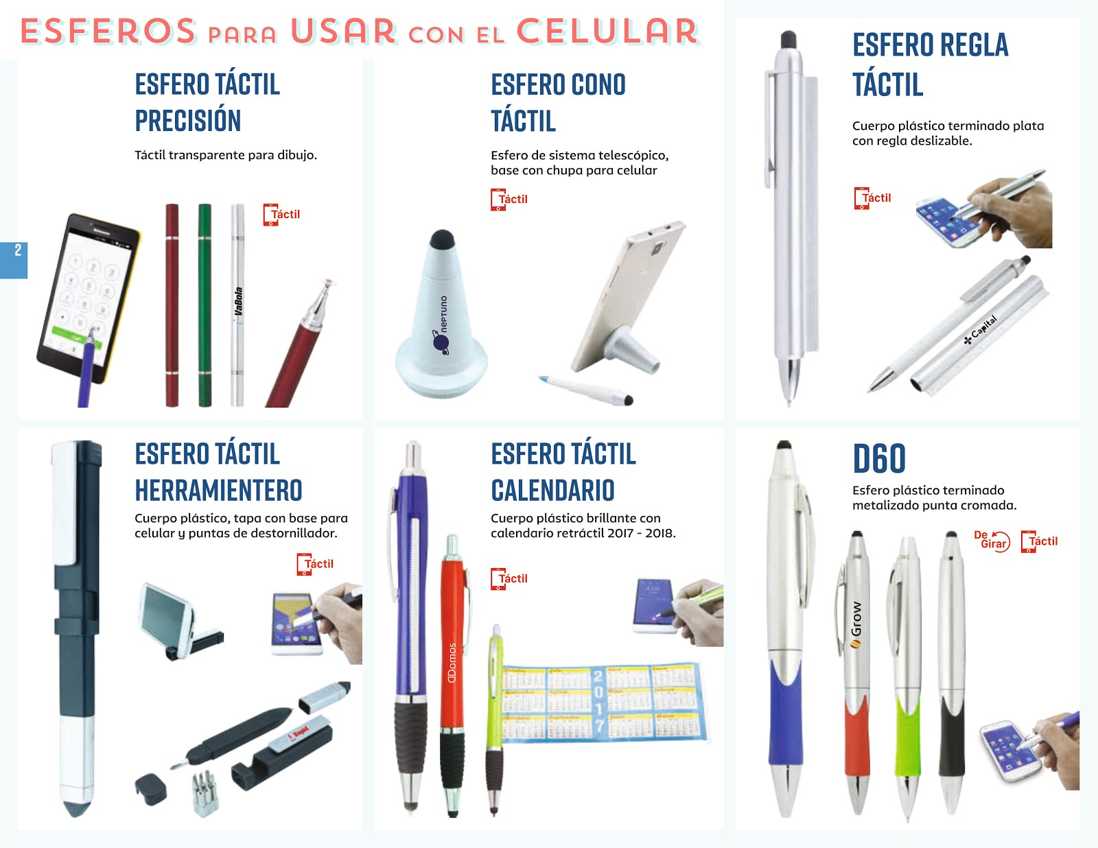 ESFEROS / LAPICEROS
