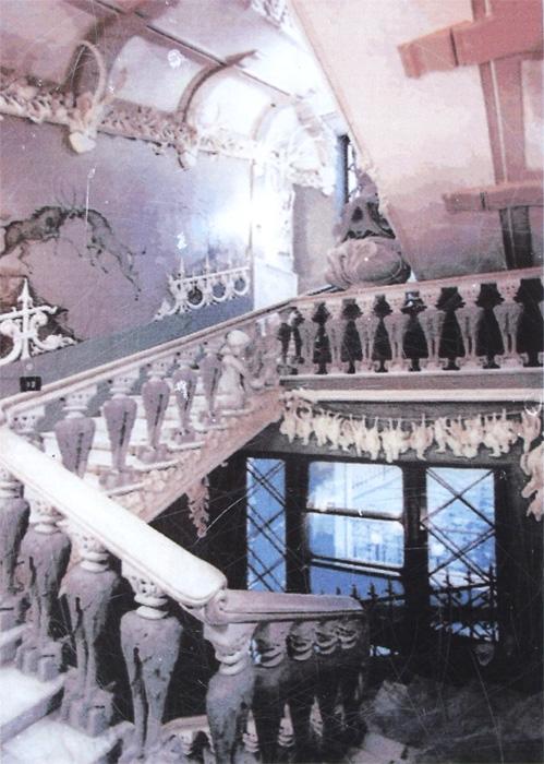 Дом с химерами киев фото внутри