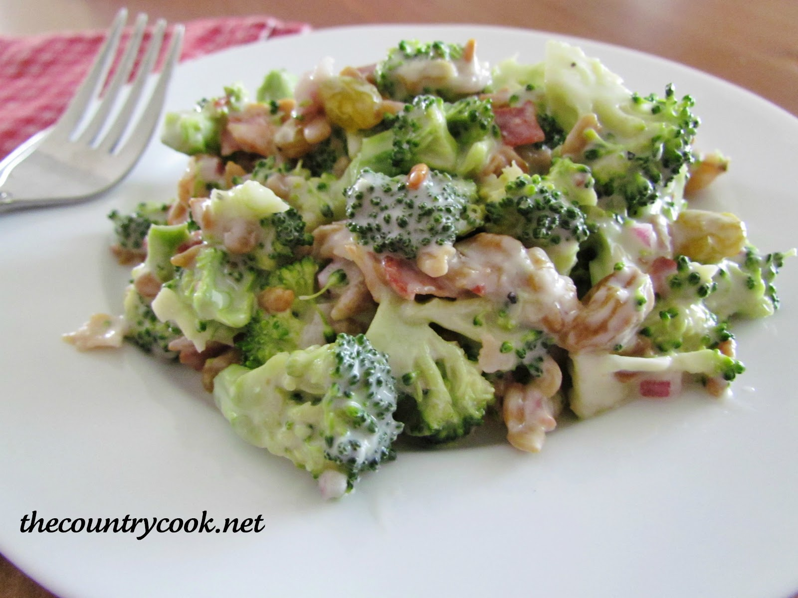 Broccoli Salad - The Country Cook