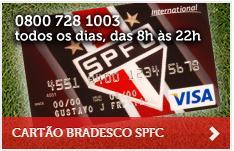 Cartão de Crédito SPFC