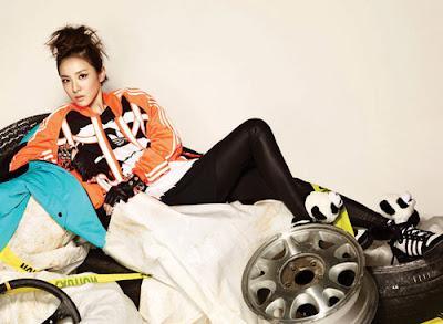 2NE1 Dara Bom Minzy CL - 1st Look Magazine Vol.1 Billion Dollar Baby