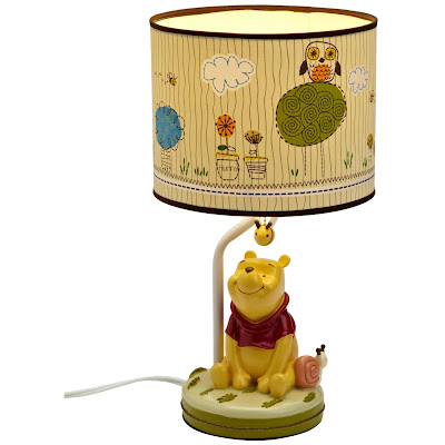 Winnie the Pooh Lamp for kids photo