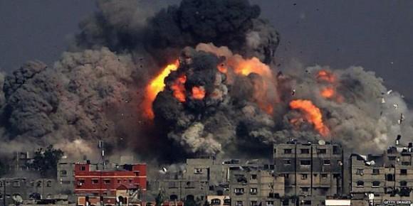 Los bombardeos sobre la Franja de Gaza han duplicado el cáncer