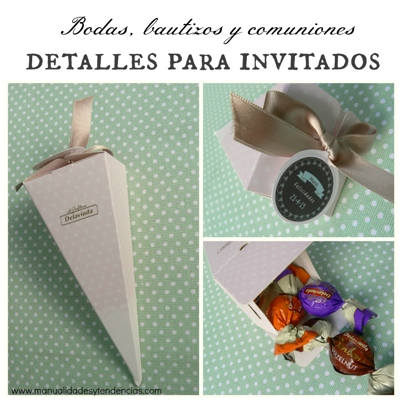 Manualidades y tendencias detalles para invitados a - Detalles para los invitados de boda ...