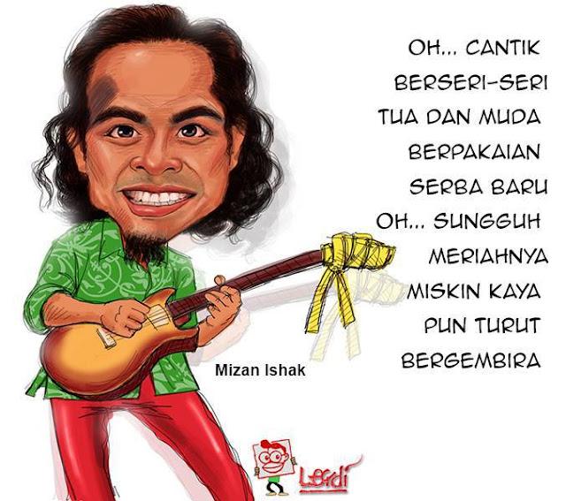Kartun Mizan Ishak
