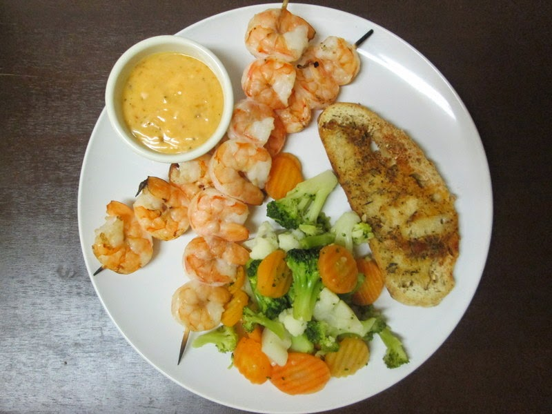 Grilled Shrimp with Yum-Yum Sauce