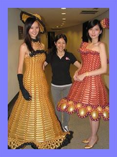 model pakaian balon