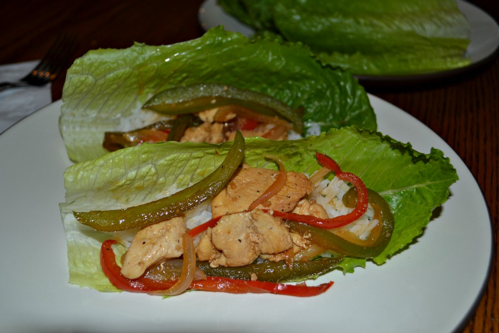 Chicken Stir-Fry Lettuce Wraps (Secret Recipe Club) - Hezzi-D's Books ...