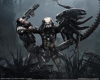 #15 Aliens vs Predator Wallpaper