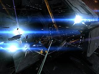 Eve Online переполох в Жите