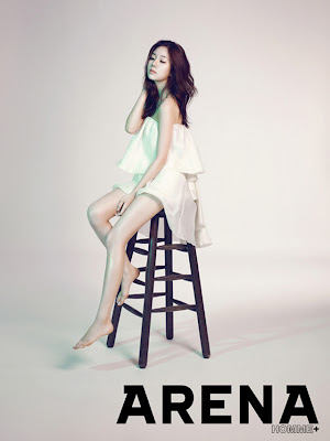 Baek Jin Hee - Arena Homme Plus Magazine August Issue 2013