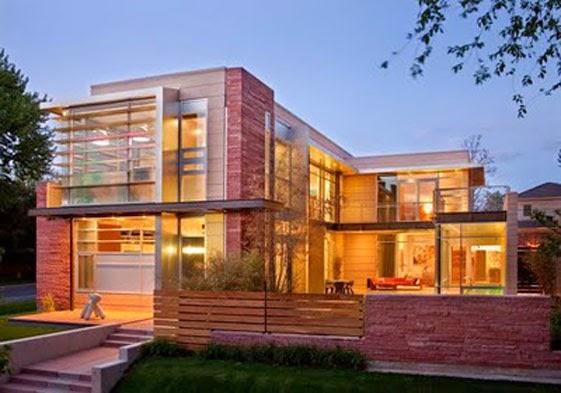 desain rumah mewah keren 2 Lantai - gambar 07