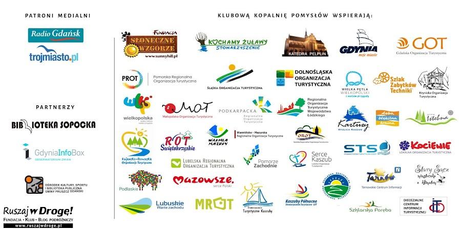 Przewodniki dostarczają nam organizacje z całej Polski