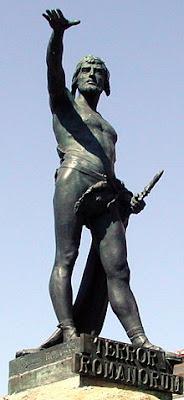 Estatua de Viriato en Zamora