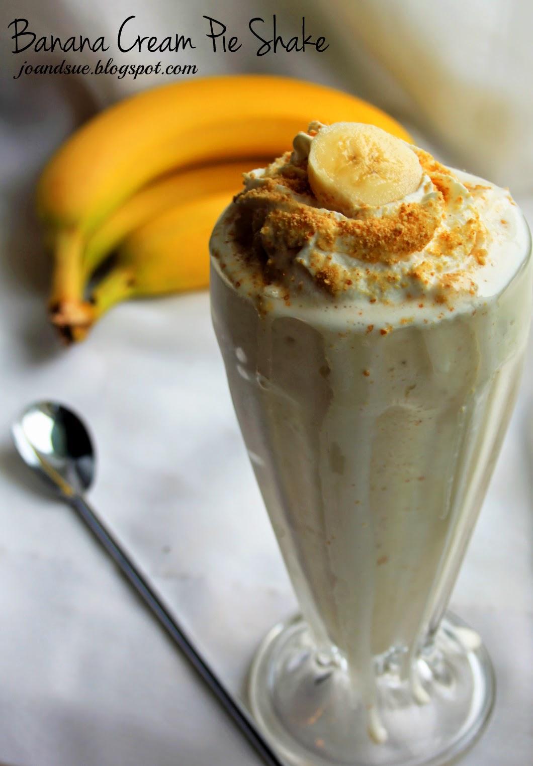 Jo and Sue: Skinny Banana Cream Pie Shake