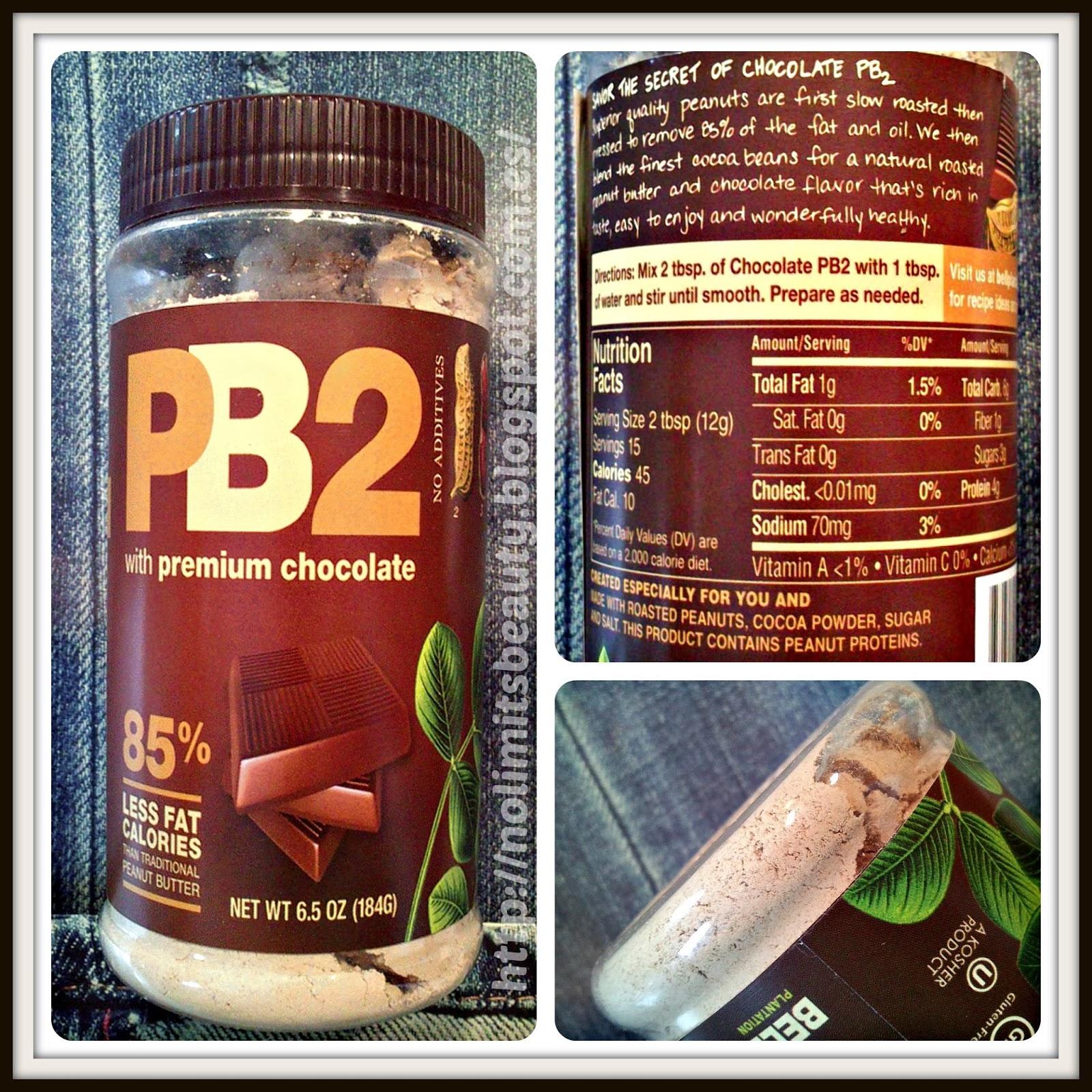 iHerb - PB2 with premium chocolate