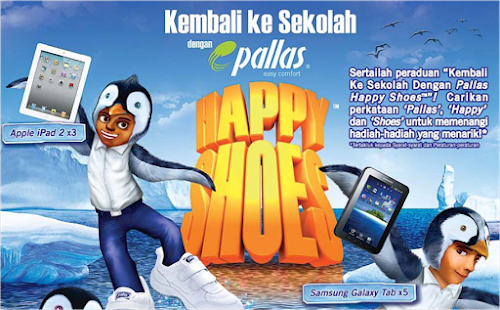 Peraduan 'Kembali Ke Sekolah Dengan Pallas Happy Shoes'