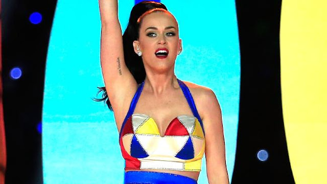 Winning: Katy Perry is 2015's top earning music star.