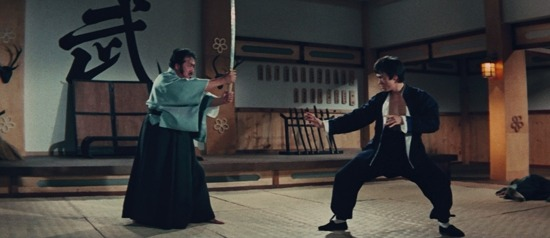 Bruce Lee vs Katana in Fist of Fury