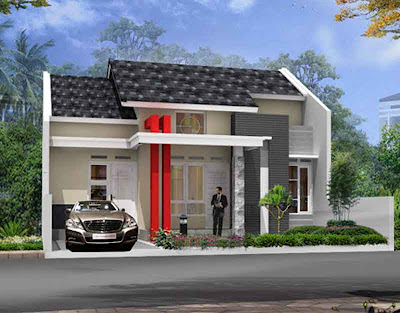 [Gambar] Desain Rumah Sederhana Minimalis 03 - Abahblogs