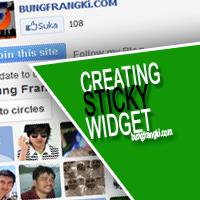 Bahan Sticky valid HTML5 dan CSS3