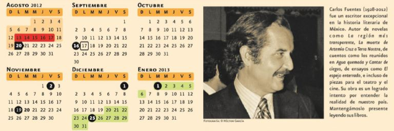 Calendario escolar sep 2014 - Imagui