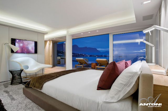 Picture of the modern bedroom