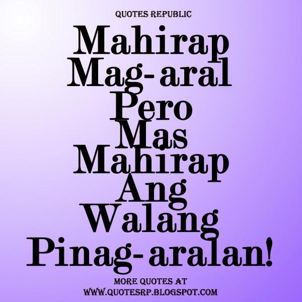 """#SALAWIKAIN: """"Kung may tiyaga, may nilaga."""""""